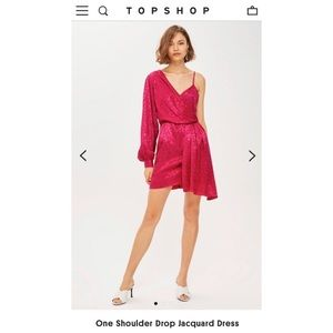 One sleeve top shop short dress
